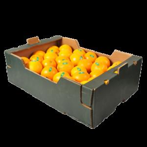 Hel låda Apelsiner